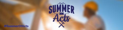 Summer of Acts – Slider