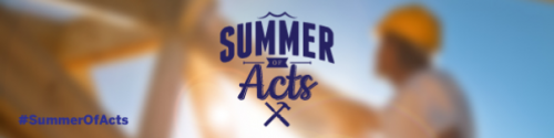 Summer of Acts – Slider