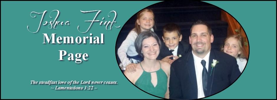 Joshua Fink Memorial Page – Slider